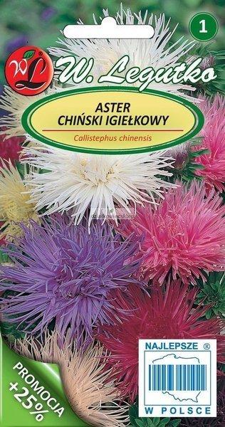 Aster chiński igiełkowy - mieszanka (1 g)