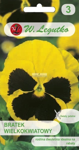 Bratek wielkokwiatowy - Firnengold (0,5 g)