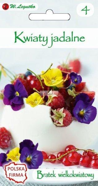 Bratek wielkokwiatowy mieszanka - Kwiaty jadalne (0,5 g)