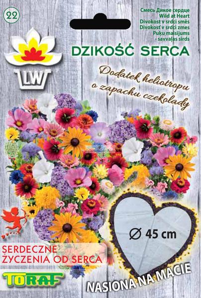 Dzikość Serca (Ø 45cm) - nasiona na taśmie