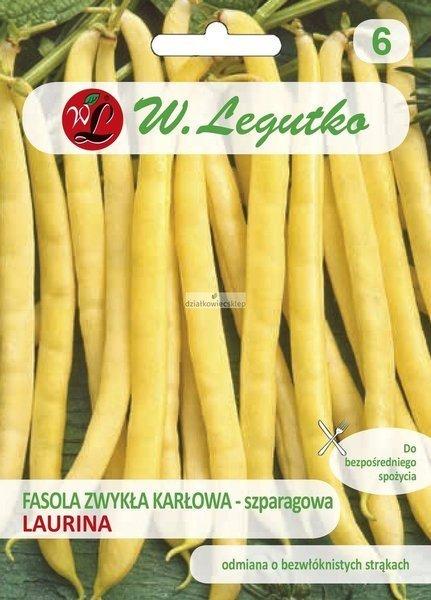 Fasola szparagowa karłowa Laurina - śr. wczesna (50 g)