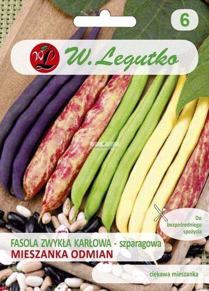 Fasola szparagowa karłowa mieszanka odmian (40 g)