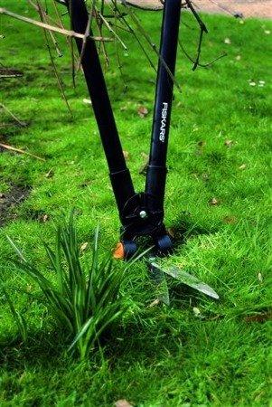 Fiskars Dźwigniowe nożyce do trawy i żywopłotu