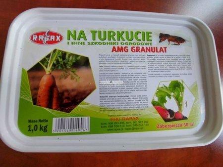 Granulat na turkucie, drutowce, nornice 1 kg