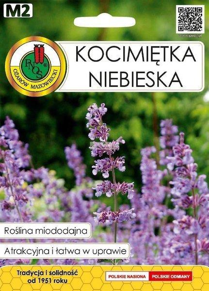 Kocimiętka niebieska (0,5 g) - Roślina Miododajna