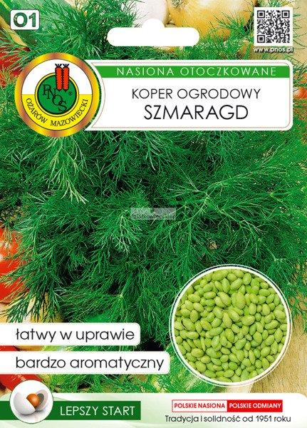 Koper ogrodowy Szmaragd (300 nasion)  - nasiona otoczkowane