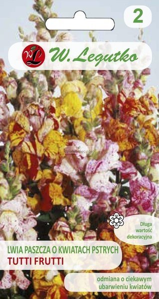 Lwia paszcza niska Tutti Frutti - mieszanka (0,1 g)