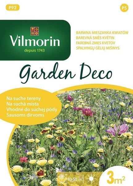 Mieszanka kwiatów na suche tereny (6 g) - Garden Deco