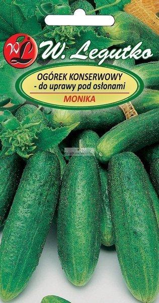 Ogórek do uprawy w gruncie i pod osłonami Monika (2 g)