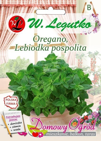 Oregano, Lebiodka pospolita (0,1 g) - Domowy Ogród