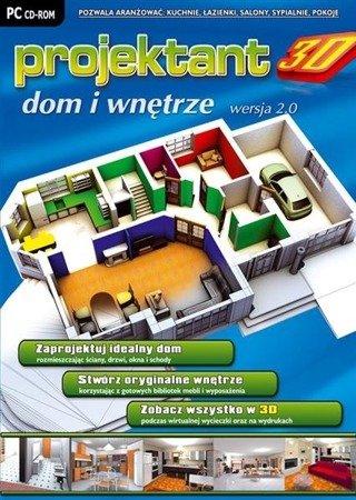 PROJEKTANT 3D: DOM I WNĘTRZE wer. 2.0