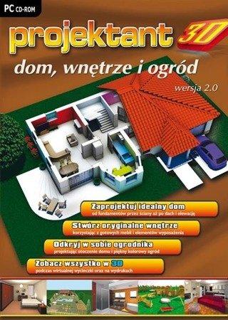 PROJEKTANT 3D: DOM, WNĘTRZE I OGRÓD wer. 2.0