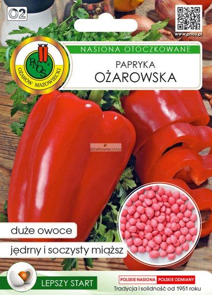 Papryka Ożarowska (50 nasion)  - nasiona otoczkowane