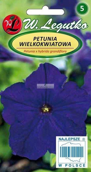 Petunia wielkokwiatowa granatowoniebieska (0,01 g)