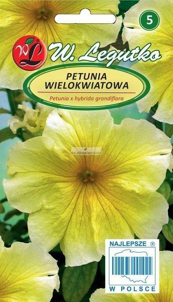 Petunia wielkokwiatowa żółta (0,01 g)