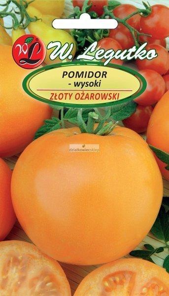 Pomidor gruntowy wysoki - Złoty Ożarowski - owoce duże (0,5 g)