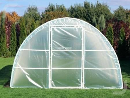 Tunel foliowy *A6* 6,0 x 3,0 x 1,9 m 4-UV z wgrzanymi sznurkami