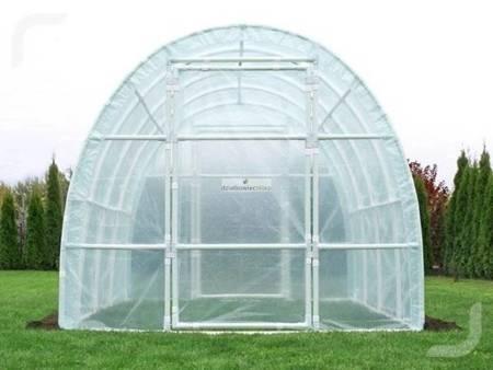 Tunel foliowy *B4* 4,0 x 2,2 x 1,9 m z folią UV4 z wgrzanymi sznurkami